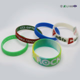 Wristband tessuto tessuto su ordinazione di festival stampato marchio per l'evento