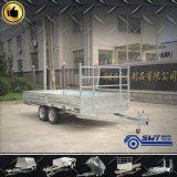 Cargaison Trailer Flat Bed Transportation Trailer avec DEL Taillight