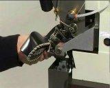Сторона резьбы орнаментальная соединяет швами машина промышленного ботинка Lockstitch единственная