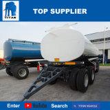 A Titan 20000 litros de petróleo Tri-Axle Petroleiro de combustível do tanque de combustível 4-Axlev trailer do tanque da barra de tração