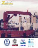 Offshore Marine Deck Crane Hidráulico Fijo en la nave Floating Ship Crane