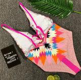 2018 Dame-einteiliger Bikini