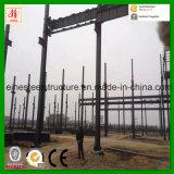 Godown prefabbricato della struttura d'acciaio in Africa