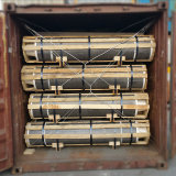 Графитовые электроды углерода кокса иглы ранга UHP/HP/Np используемые для дуговой электропечи с низкой ценой