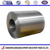 En utilisant des matériaux de construction fournisseur professionnel de la bobine d'acier galvanisé d'alimentation en GI