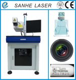 Máquina ULTRAVIOLETA de la marca del laser para los shelles del plástico/del cable/del teléfono