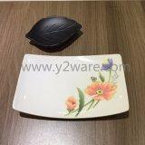 Ciotola di frutta di ceramica decorativa