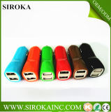 USB Car Charger di Approval 5V 2A Dual del Ce per il iPhone 5 4 4s 6 Cell Phone PDA MP3 MP4 Player