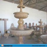 Fonte de mármore Stone Fontes para jardim Roman