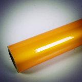 La couleur orange Commerical Grade adhésif réfléchissant Pet épaisseurs de draps pour les signes