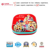 中国Suppliers (S001-V8)著大型のBiscuit Metal Tin Box