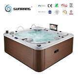 PVC Waterproof TV 101PCS Jets Whirlpool Bathtub