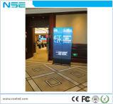 Affiche 2017 visuelle de l'usine DEL de la Chine DEL annonçant l'étalage pour le centre commercial d'hôtel