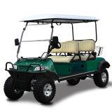 Vehículo utilitario con errores 4seat del golf del panel solar