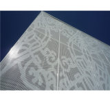 Spezielles Muster-perforiertes Aluminiumpanel für Wand-Dekoration