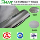Revestimento de alumínio laminado de tecido reflector resistente ao calor