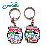 Preiswertes Wholesale Custom PVC Keychain PVC-Keychains 3D Soft