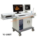 ワークステーション(YJ-U80T)が付いている完全なデジタルトロリー超音波のスキャンナー