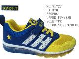 Nr 51722 de Schoenen van Stcok van de Sport van het Blauwe van de Kleur Jonge geitje van de Jongen