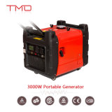 中国の最もよい品質0.65kw 1kw 2kw 2.6kw 3kw 5kw無声小型携帯用ガソリンインバーター発電機