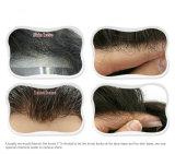 人完全なPUの基礎ToupeeのためのRemyの毛の人のかつらのToupee