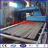 Macchina calda di granigliatura del trasportatore a rulli di vendita per la barra d'acciaio