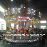 Fabricant simple de machine d'amusement de carrousel dans Guangzhou Chine