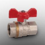 Valvola a sfera d'ottone per il rubinetto del gasolio e del gas d'acqua