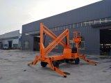 4-16m máquina desbastadora rebocadora da cereja do elevador do crescimento de uma venda quente de 200 quilogramas China para a venda com certificação do ISO do Ce