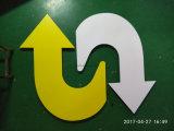 Panneau de PVC de Foamex de panneau de mousse de PVC 1220*2440mm pour la fabrication de signe