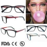 Уникальный стиль оптические рамы очки верхний конец ацетат чтения очки