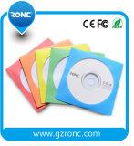 Colorido de armazenamento 80g luva DVD papel para CD DVD