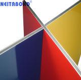 Painel Composto de alumínio Alucobonde Chapa de revestimento de parede exterior