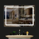 Personalizzato illuminato vestendo lo specchio chiaro di Mirror/LED per la stanza da bagno con antinebbia