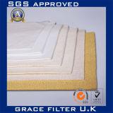 Résistant aux hautes températures filtre en tissu de support de filtre en PTFE