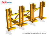 中国の製造業者360kg*4のフォークリフトオイルドラムグラブDg1440A