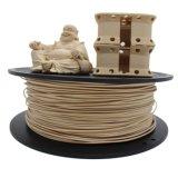 PLA Filament 3D'exactitude de +/- 0,05mm pour la 3D'IMPRIMANTE (bois)