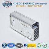 CNCの機械化を用いる脱熱器のためのPerformanace高い6063-T5のアルミニウム放出