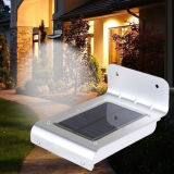 LED IP65 Sensor de radar de pared de luz solar para jardín