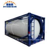 Китай 20FT T11/T14 HCl/Sulphic/спирта/Hydrofludric/Nacl/Naclo кислоты ISO емкость топливного бака