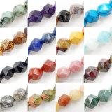 다면체 원석은 6-10mm 공장 도매를 만드는 보석을%s 느슨한 구슬 물가를 구슬로 장식한다