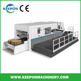 Découpe automatique avec le décapage de la machine pour carton ondulé (MHK-1650FC)