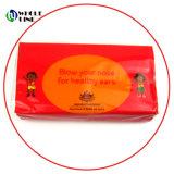 3-слойные специализированные печатные карман ткани на лице Handkerchief ткани