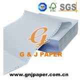 Imagem azul 4 lonas NCR continuar imprimindo papel autocopiador