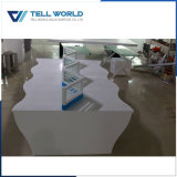 Акрил твердой поверхности с рабочей станции мебель коммерческих Office Desk