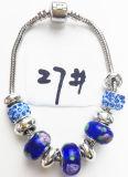 Armband Ref van de Charme DIY van vrouwen de Echte Zilveren Geplateerde Met de hand gemaakte: P 027
