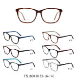 De goedkope Acetaat Optische Eyewear van Eyewear van de Voorraad van de Prijs Klaar (FX180410)