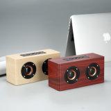 Haut-parleur Bluetooth sans fil en bois d'adopter le double des performances de qualité audio hi-fi haut-parleurs