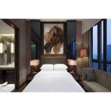 ワードローブの手荷物棚のホテルの木のベッド部屋の家具セット