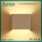 Indicatore luminoso di alluminio dell'interno quadrato della parete della lampada da parete 3W LED